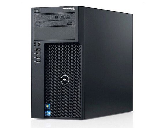 Bild 1 - Dell, Precision T1700, Tower, Core i5 4690, 3,50GHz, 16GB, 256GB SSD, DVD-RW, NVS 310