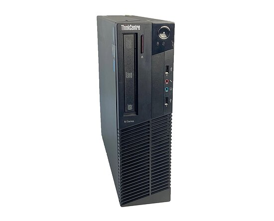 Bild 1 - Lenovo, ThinkCentre M81 0385A2G, Desktop, Core i5 2400, 3,1GHz, 4GB, 500GB, DVD-RW