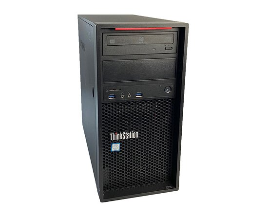 Bild 1 - Lenovo, ThinkStation P310 30ASS07500, Tower, i7 6700, 3,4GHz, 16GB, 256GB SSD, DVD-RW