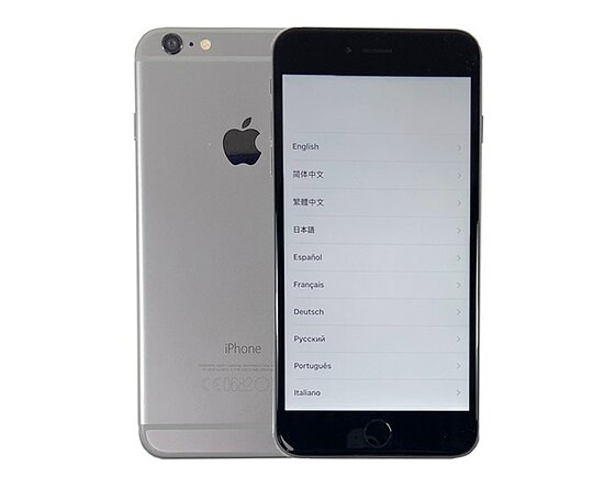 Bild 1 - Apple, iPhone 6 Plus Space Gray, 64GB