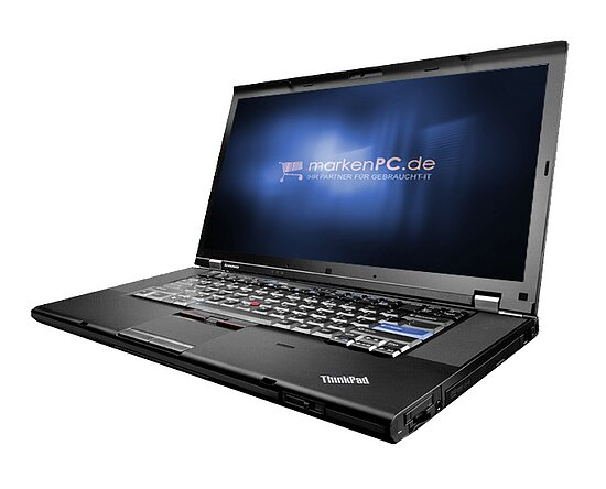 Bild 1 - Lenovo, Thinkpad T510, Core i5 520M, 2,4GHz, 2GB, 160GB, DVD-RW, WLAN, 39,6 cm (15,6''), Kat-B