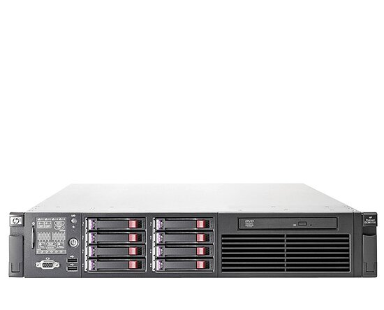 Bild 1 - HP ProLiant DL380 G7, 2x XQC L5630 2,13GHz, 64GB, DVD, 4x 146GB 2,5'' SAS, P410i, 2x PSU, noRK