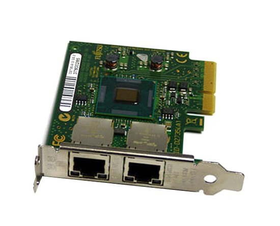 Bild 1 - Fujitsu D3035-A11 DualPort Gigabit Server Adapter PCI-E (Low Profile)