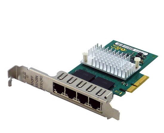 Bild 1 - Fujitsu D2745-A11 4Port QuadPort Server Adapter PCI-E (Full Profile)