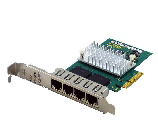 Bild 1 - Fujitsu QuadPort Gigabit Server Adapter PCIe Full Profile D3045-A11