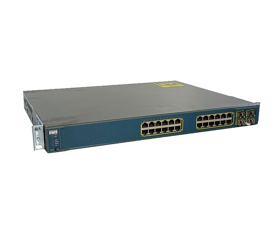 Bild 1 - Cisco Catalyst 3560G-24PS WS-C3560G-24PS-S, 2x 30-1301