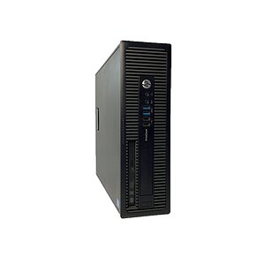 HP, EliteDesk 800 G1 SFF, Desktop, Core i5 4570, 3,2GHz, 4GB, 120GB SSD, DVD-RW