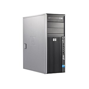 HP, Z400 Workstation, Tower, Xeon W3550, 3,07GHz, 3GB, 500GB, DVD-RW, Quadro FX1800