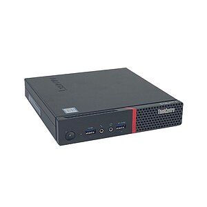 Lenovo, ThinkCentre M900 10FMS02C00, Tiny Desktop, Core i7 6700T, 2,8GHz, 8GB, 256GB SSD, noCD