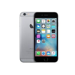 Apple, iPhone 6s Space Gray, 64GB