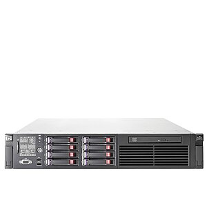 HP ProLiant DL380 G7, 1x XQC L5630 2,13GHz, 32GB, DVD, 2x 146GB & 1x 600GB 2,5'' SAS, P410i, 2x PSU, noRK