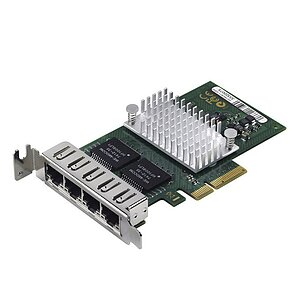 Fujitsu D2745-A11 4Port QuadPort Server Adapter PCI-E (Low Profile)