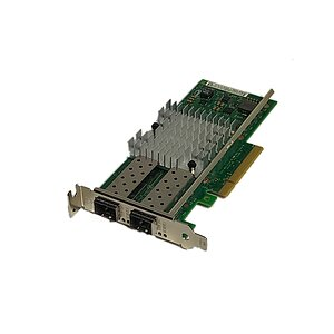 DELL/Intel NIC X520-DA2 10Gbe NIC no Gbic (Low Profile) 0942V6