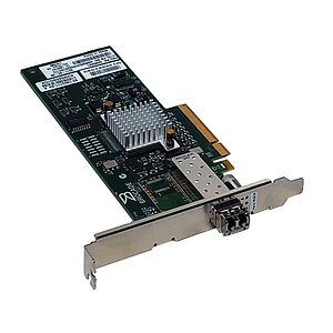 IBM/Brocade 815 SinglePort FC Controller 8Gb PCIe 46M6061 incl. Gbic (Full Profile)