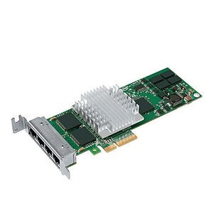 Intel PRO/1000 PT QuadPort LP Server Adapter EXPI9404PTLSP20 (Low Profile)